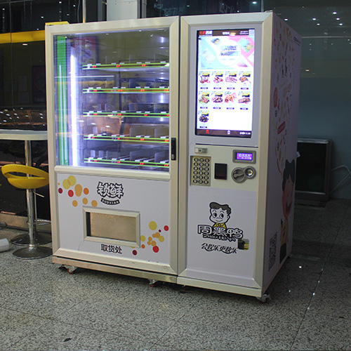 饮食场所对智能售货机的需求很大