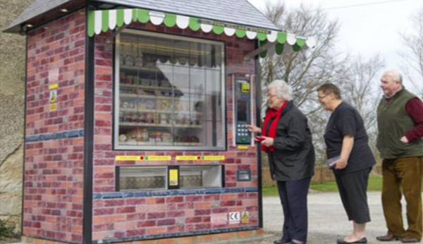 The British giant vending machine was born