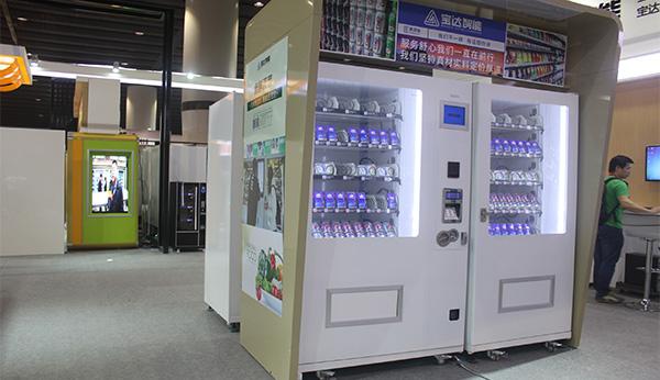 当下现代数据化运营加快饮料自动售货机的投放进度!
